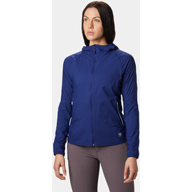 Mountain Hardwear Kor Preshell Capuchon Jas Dames, dark illusion